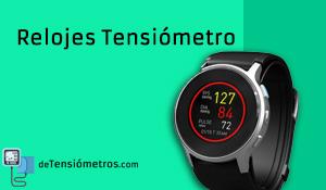 Relojes que miden la tensión