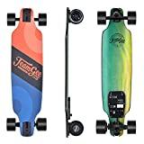 Teamgee H8 Skateboard Elettrico - Longboard Adult con Telecomando, Motore 480W, Tre velocità...